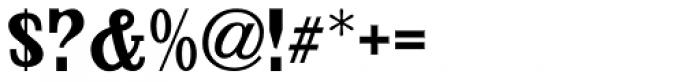 Handmade Caslon JNL Font OTHER CHARS