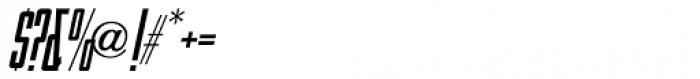 Handmade Headline Oblique JNL Font OTHER CHARS