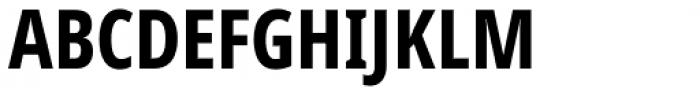 Handset Sans WGL Condensed Bold Font UPPERCASE