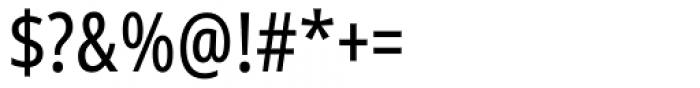 Handset Sans WGL Condensed Regular Font OTHER CHARS