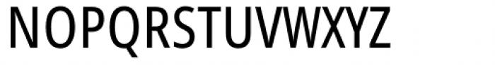Handset Sans WGL Condensed Regular Font UPPERCASE