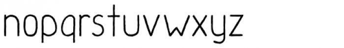 Handu Font LOWERCASE