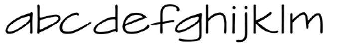 Handwriting Absolute Font LOWERCASE