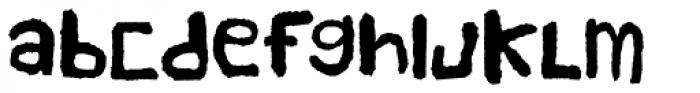 Handy Cut Font LOWERCASE