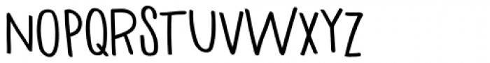 Haneda Black Font UPPERCASE