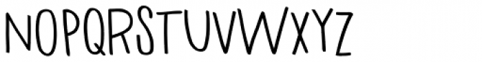 Haneda Bold Font LOWERCASE