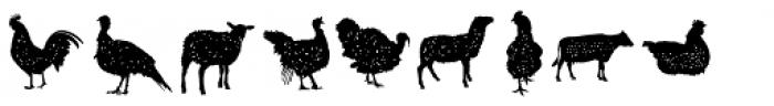 Hanleth Icon Font LOWERCASE