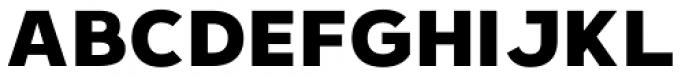 Hanleth Sans Font UPPERCASE