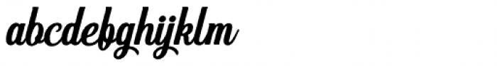 Hanleth Script Rough Font LOWERCASE