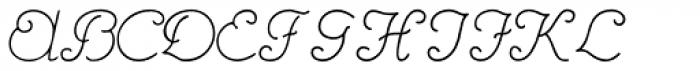 Hannover Font UPPERCASE