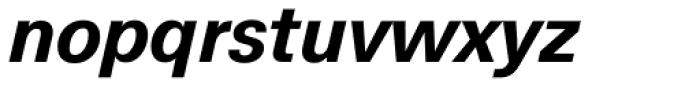 Hans Grotesque Bold Italic Font LOWERCASE