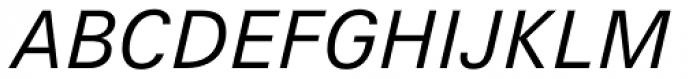 Hans Grotesque Italic Font UPPERCASE