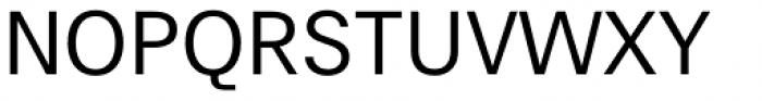 Hans Grotesque Regular Font UPPERCASE