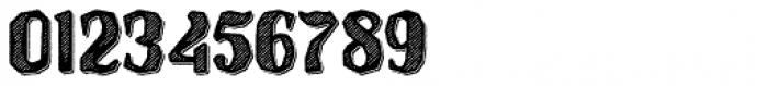 Hanscum Hatch 3D Font OTHER CHARS
