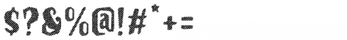 Hanscum Line Font OTHER CHARS