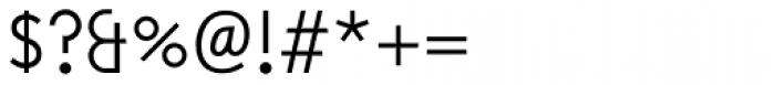 Hanseat Regular Font OTHER CHARS
