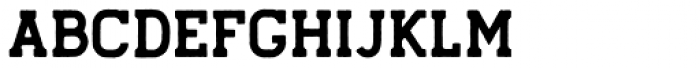 Hansel  Rough Font UPPERCASE