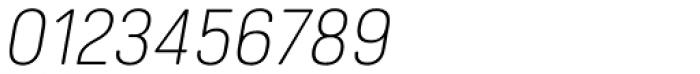 Hansom FY Light Italic Font OTHER CHARS