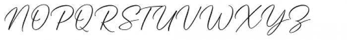 Hanthem Script Regular Font UPPERCASE
