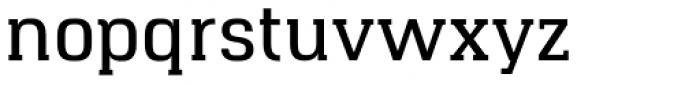 Hapna Slab Serif DemiBold Font LOWERCASE
