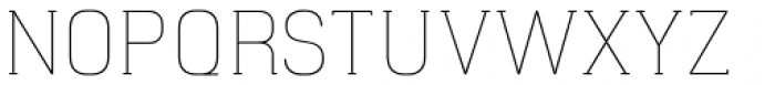 Hapna Slab Serif Light Font UPPERCASE