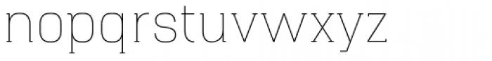 Hapna Slab Serif Light Font LOWERCASE