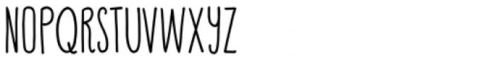 Happy Cloud Black Font UPPERCASE