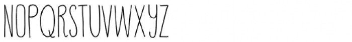 Happy Cloud Font UPPERCASE