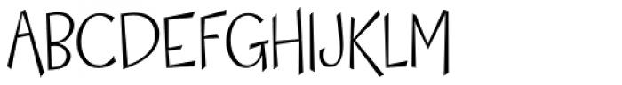 Happy Day Light Pro Font UPPERCASE