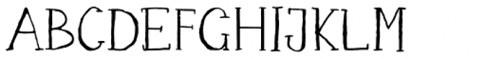 Happy Maggie Font UPPERCASE