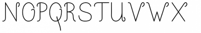 Happy Reader Narrow Regular Font UPPERCASE