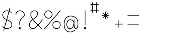 Happy Reader Wide Regular Font OTHER CHARS