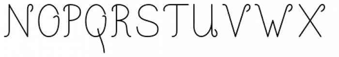 Happy Reader Wide Regular Font UPPERCASE