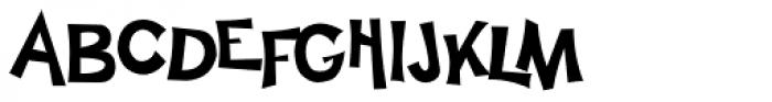 Happy Sans Font UPPERCASE