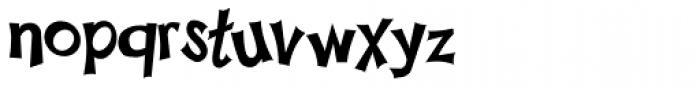 Happy Sans Font LOWERCASE