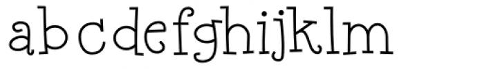 Happyjamas Font LOWERCASE
