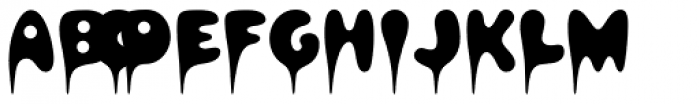 Hapshash Font UPPERCASE