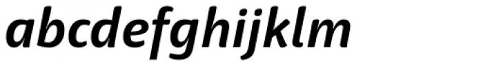 Haptic Pro Bold Italic Font LOWERCASE