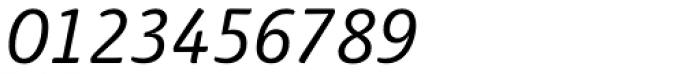 Haptic Pro SemiLight Italic Font OTHER CHARS