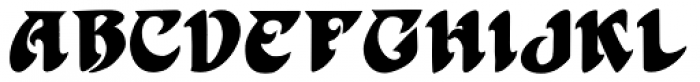 Harbinger Font UPPERCASE