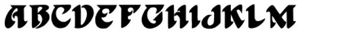 Harbinger Font LOWERCASE