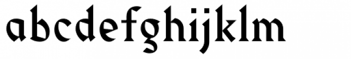 Harbour Light Font LOWERCASE