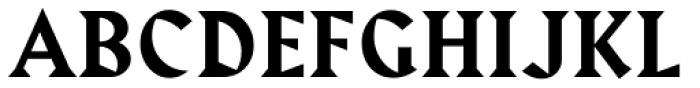 Harbour Medium Font UPPERCASE