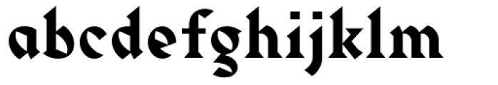 Harbour Medium Font LOWERCASE