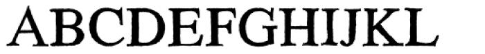 HardTimes Roman Font UPPERCASE