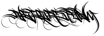 HardWay Caps Font UPPERCASE