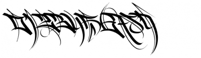 HardWay Font OTHER CHARS