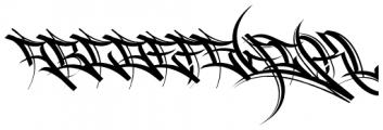 HardWay Font UPPERCASE