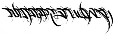 HardWay Font LOWERCASE