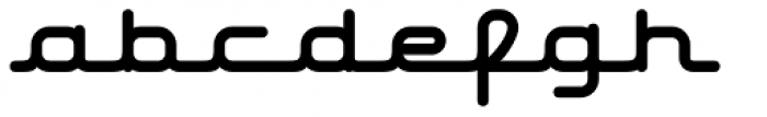 Hardliner AOE Font LOWERCASE